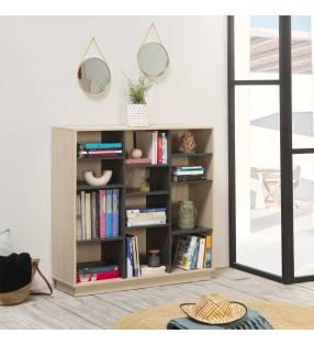 Estantería Librería Vitoria 110x110cm TopMueble