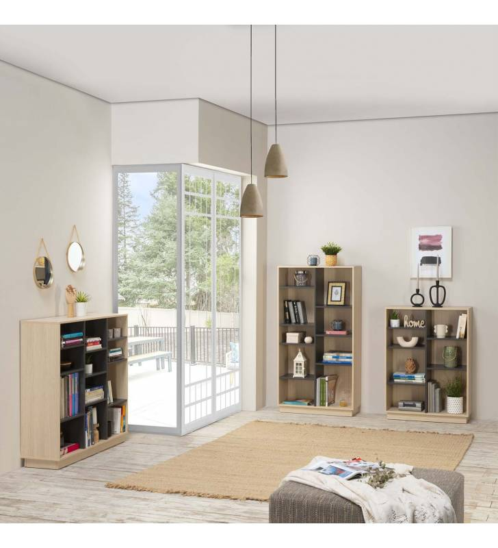Estantería Librería Vitoria 110x110cm TopMueble 6