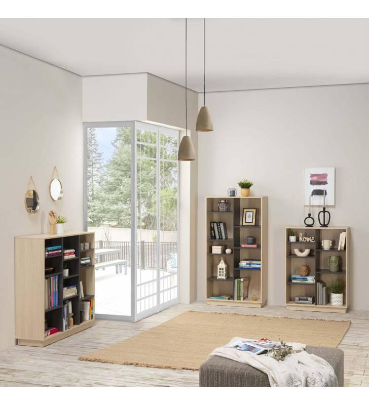 Estantería Librería Vitoria 150x80cm TopMueble 6