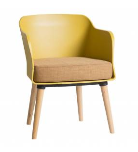 Pack 2 Sillones Moore mostaza Topmueble