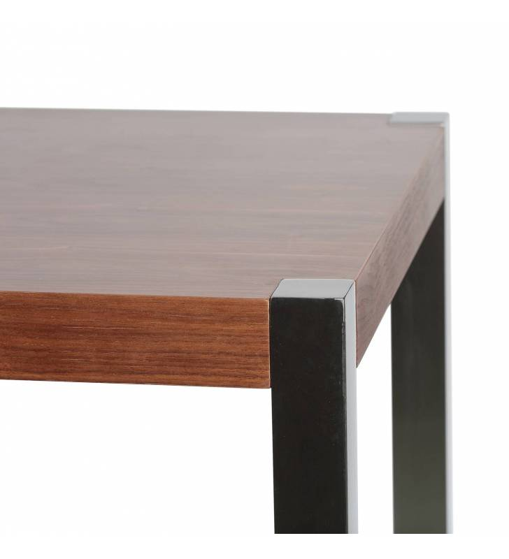 Mesa de bar Jessey  color Nogal Topmueble 2