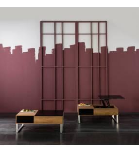 Mesa de centro modelo Nirvana con bandeja elevable