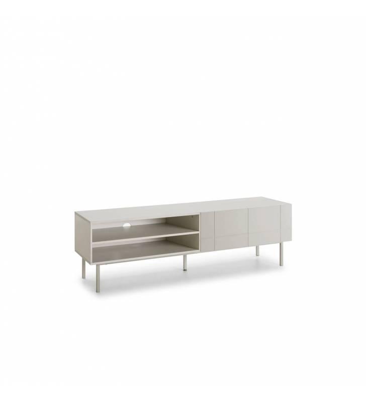 Mueble TV Linea Blanco 4 Topmueble