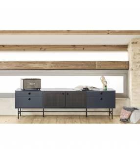 Mueble TV Punto Azul oscuro Topmueble