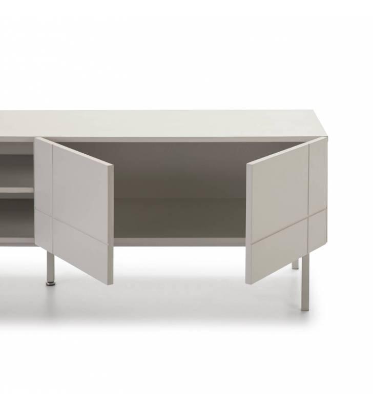 Mueble TV Linea Blanco 6 Topmueble