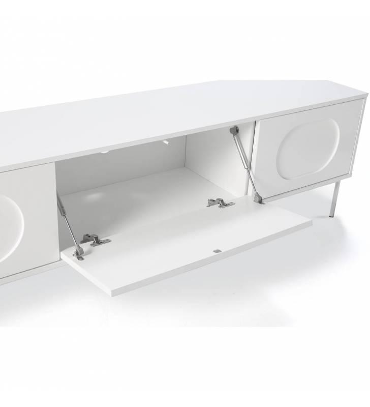 Mueble TV Orbita Blanco 3 Topmueble