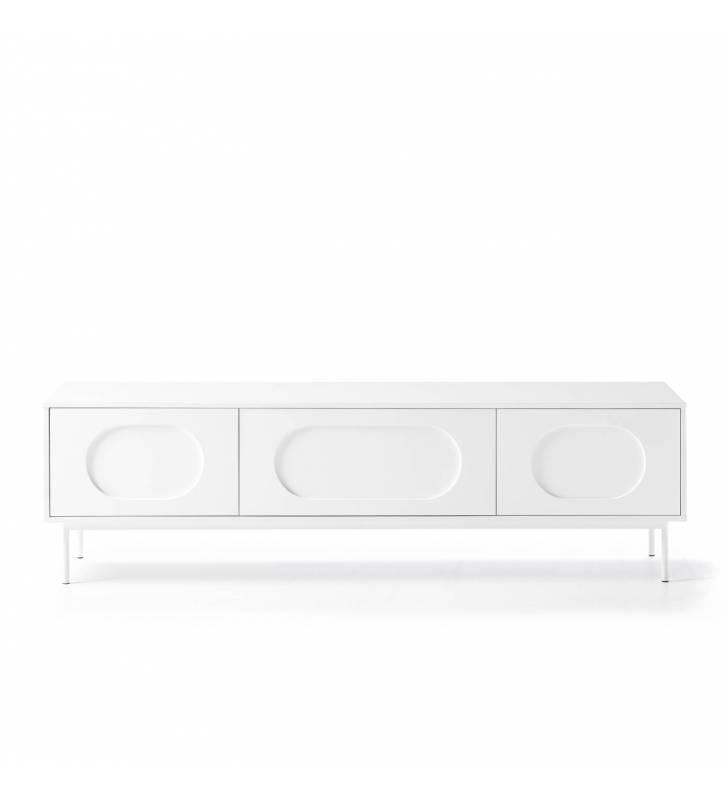 Mueble TV Orbita Blanco 4 Topmueble