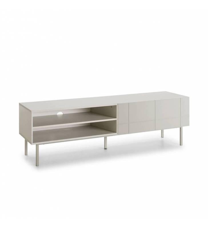 Mueble TV Linea Blanco 1 Topmueble