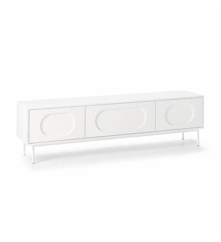 Mueble TV Orbita Blanco 1 Topmueble