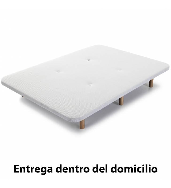 Base Tapizada 3D 150x190cm Topmueble