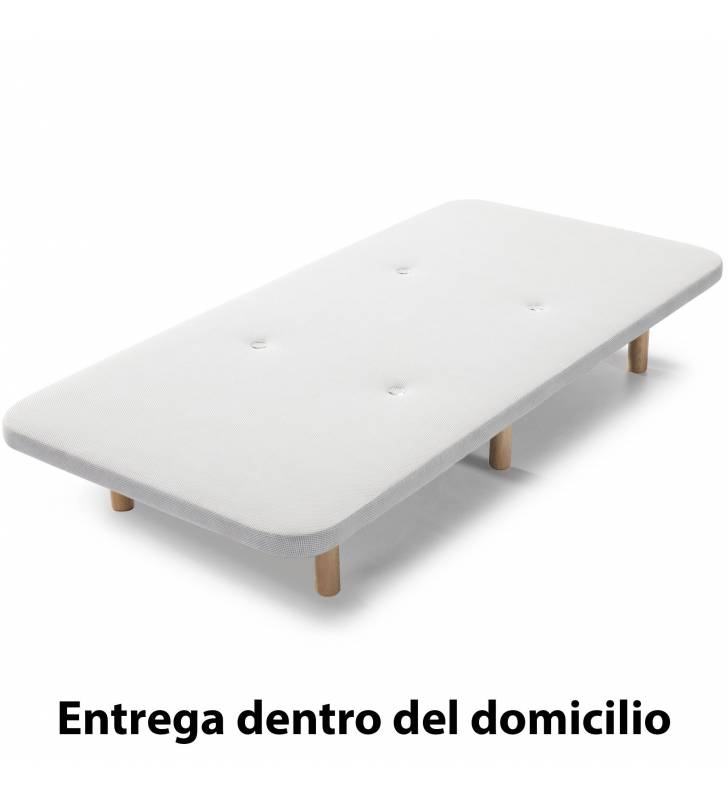 Base Tapizada 3D 90x190cm Topmueble