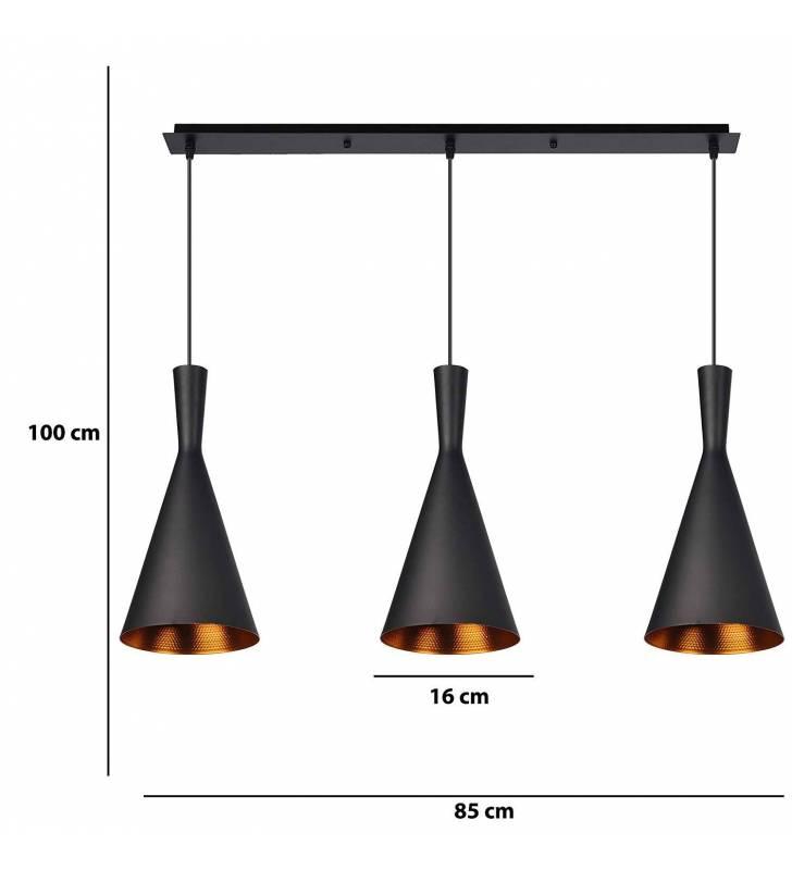 Lámpara Crux negro Topmueble 1