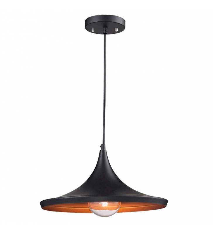 Lámpara colgante Onda negro Topmueble 1