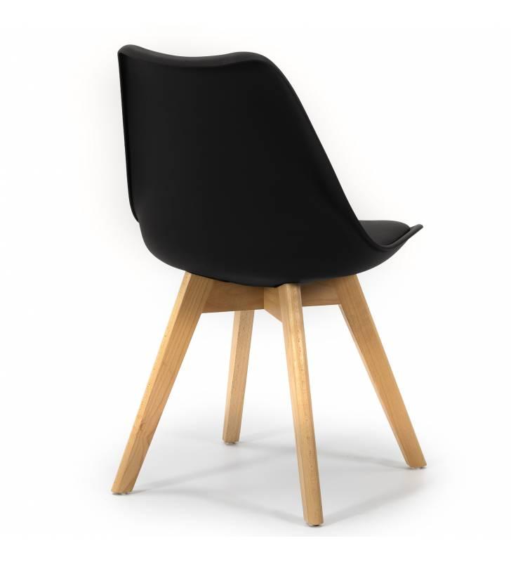 Silla Klara color negro Topmueble 3