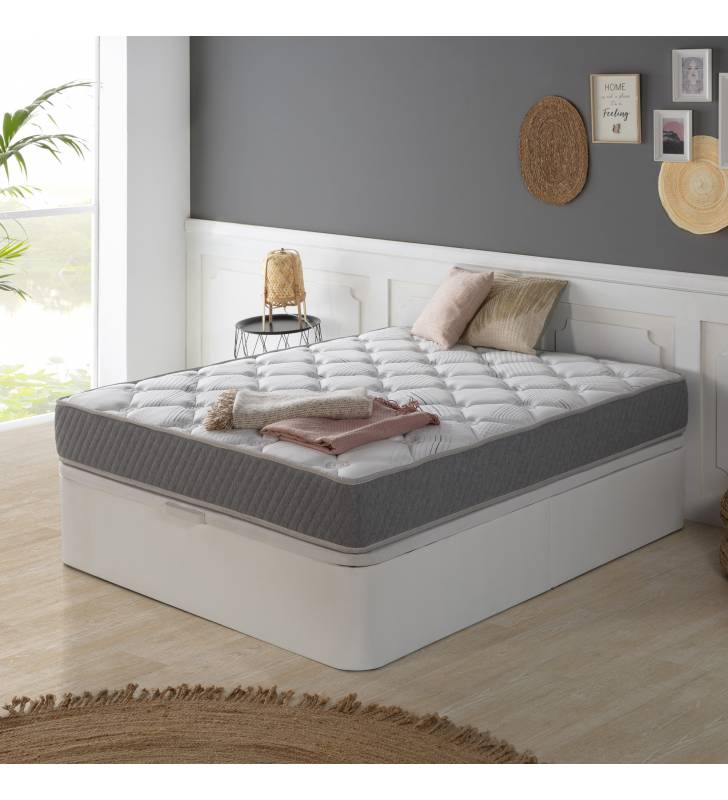 Colchón Soft Confort de Muelle Ensacado 22cm Topmueble