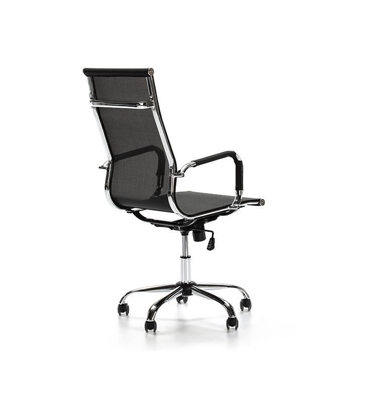 Sillón de Oficina Slim reclinable Negro 4 Topmueble