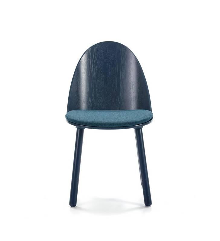 Silla UMA azul Topmueble 2