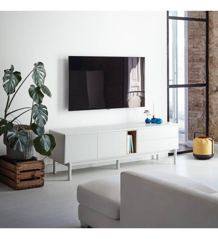 Mueble TV Corvo Blanco Topmueble