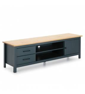 Mueble TV Mora Azul oscuro 1 Topmueble