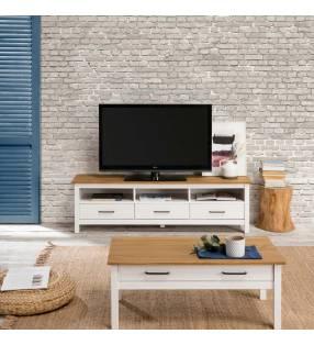 Mueble TV Olivia Blanco Topmueble