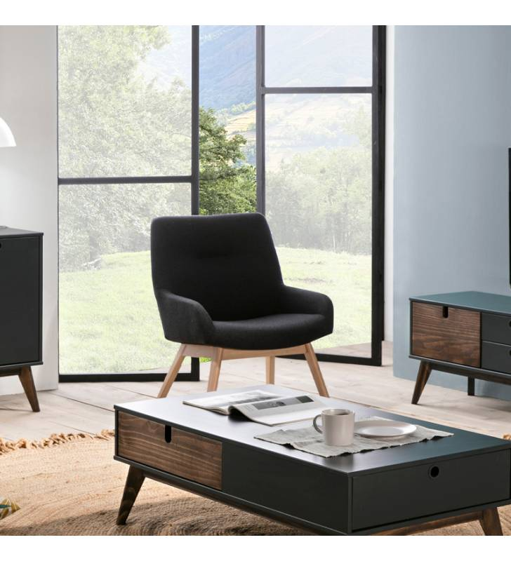 Pack 2 Sillones Kira Azul oscuro Topmueble 2
