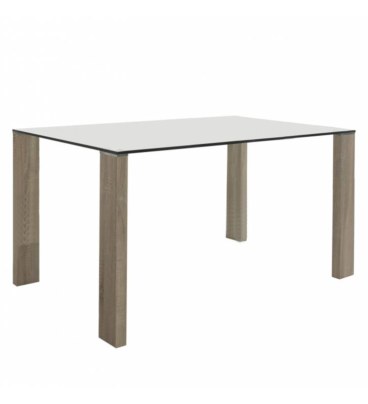 Mesa rectangular Turin Roble Topmueble 1