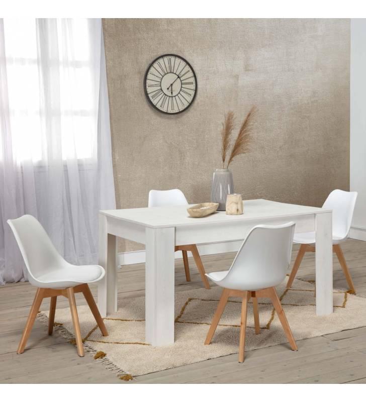 Mesa de Comedor Klau Color Blanco Topmueble 3