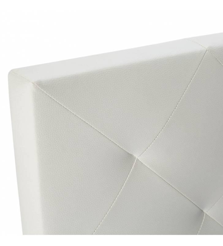 Cabecero Rombo Blanco 150-160 X 60 cm 3 Topmueble
