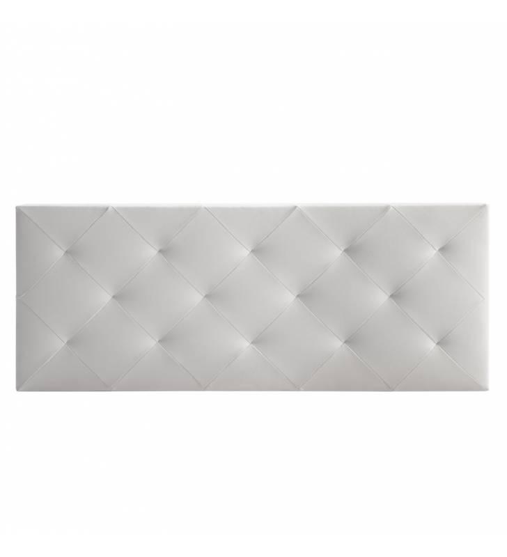 Cabecero Rombo Blanco 140 X 60 cm 2 Topmueble