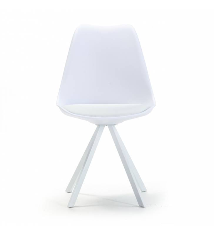 Silla Cross color blanco Topmueble 3