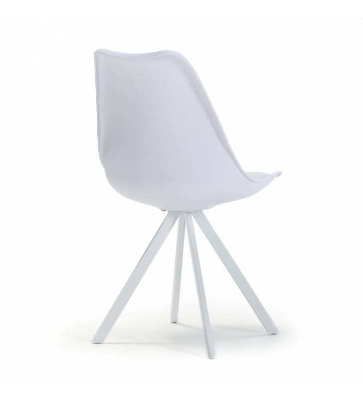 Silla Cross color blanco Topmueble 4