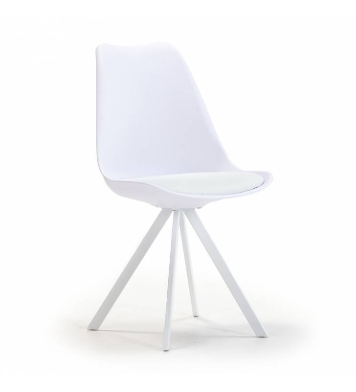 Silla Cross color blanco Topmueble 1
