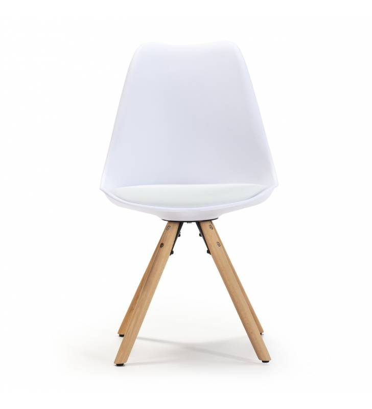 Silla Jeff color Blanco Topmueble 2