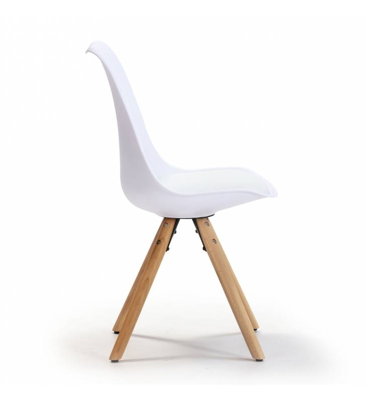 Silla Jeff color Blanco Topmueble 3