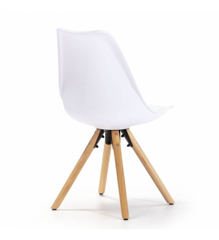 Silla Jeff color Blanco Topmueble 4