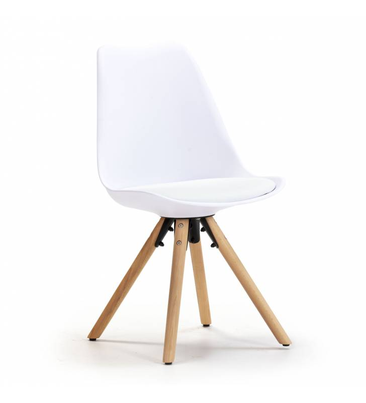 Silla Jeff color Blanco Topmueble 1