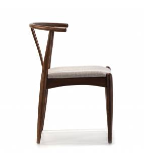 Pack de 2 sillas Rustic Nogal Topmueble