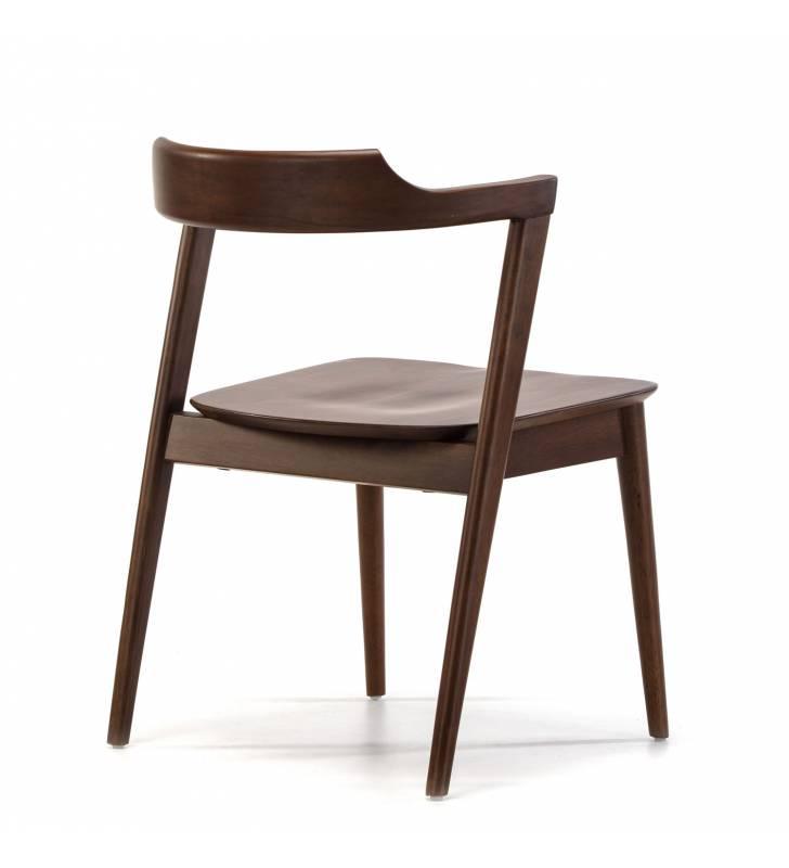 Pack de 2 sillas Venus Nogal Topmueble 4