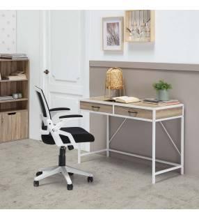 Mesa de escritorio Tulum Blanco Topmueble ambiente