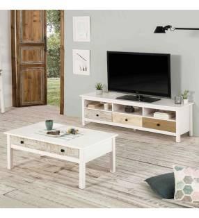 Mueble TV Magda 3C multicolor Topmueble