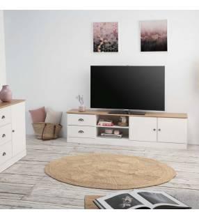 Mueble TV Denia Blanco Topmueble