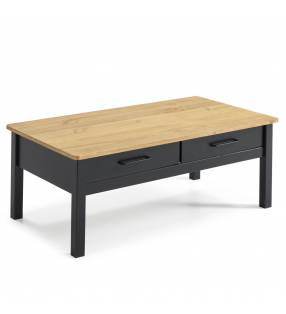 Mesa de centro Valeria 2C negro/cera 4
