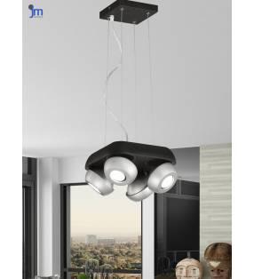 Lámpara de techo 1624 negro Topmueble