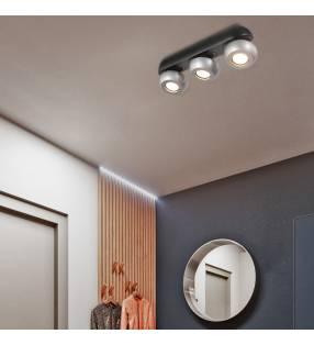 Lámpara de techo 1603 negro Topmueble