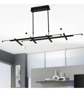 Lámpara de techo 360-8 negro Topmueble