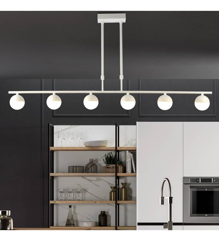 Lámpara de techo 222-6 blanco Topmueble