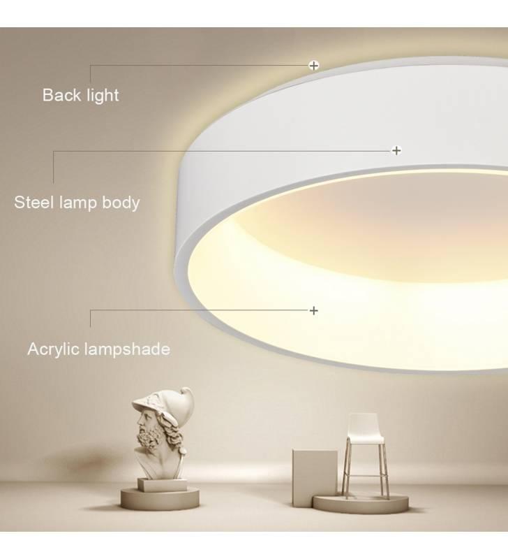 Lámpara de techo 21200-32 blanco Topmueble 2