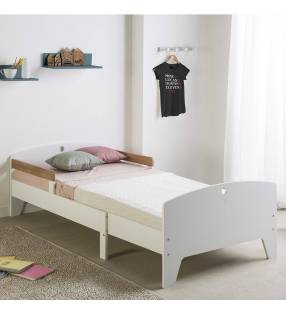 Pack infantil cama evolutiva + Colchón Blanco Topmueble