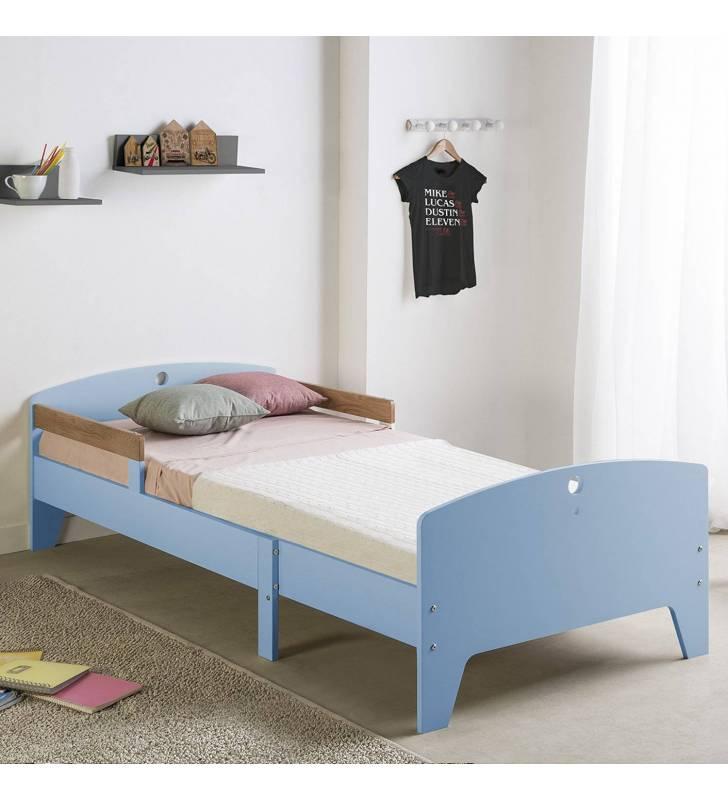 Pack infantil cama evolutiva + Colchón Azul Topmueble
