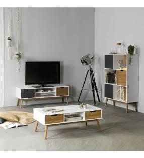 Conjunto de Salón mueble TV Leti 1p2c TopMueble